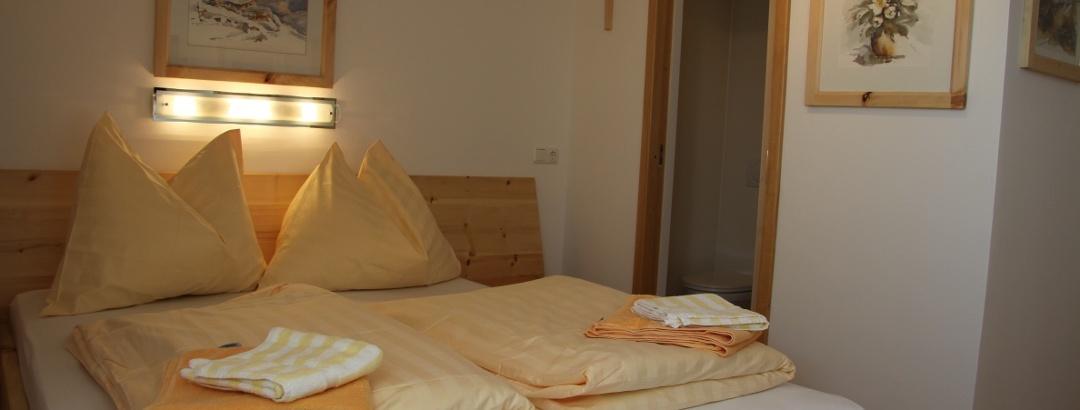 Zirbenkomfortzimmer der Lodge