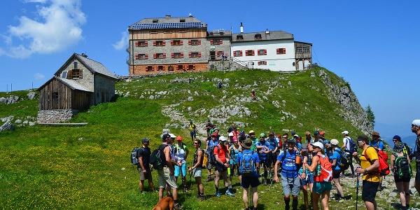 24 Stunden Wanderer am Watzmannhaus