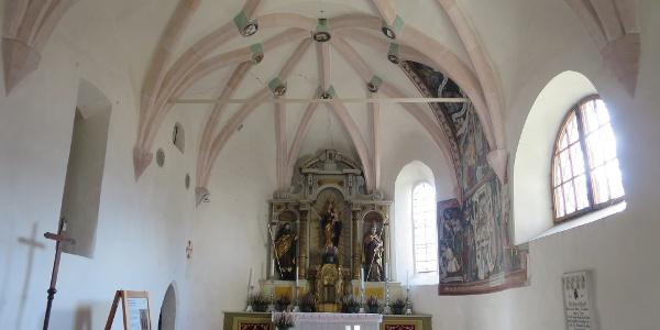 Altar Kirche hl. Jakob