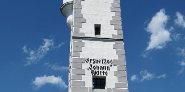 Erzherzog-Johann-Warte auf der Bürgeralpe