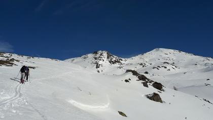 Gipfelflanke vom Morgenkogel