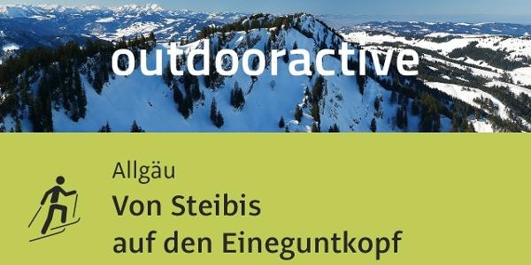 Skitour im Allgäu: Von Steibis auf den Eineguntkopf