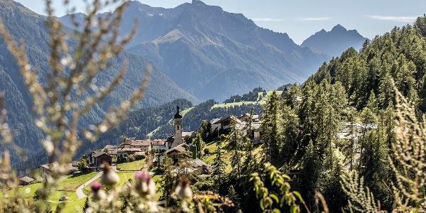 Dorf Tschlin