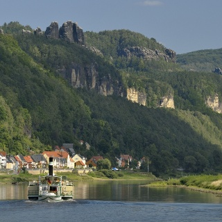 Elbe and the Schrammstein Rocks