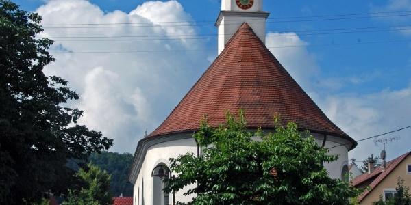 Die Dorfkirche von Thanheim