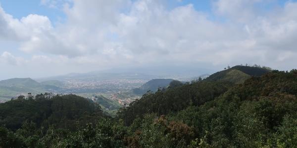 View into the Anaga Mountains