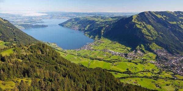 Aussicht Rigi Scheidegg