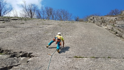 Dalle Imperiale, 6b+, 50m.