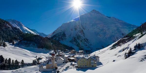 Das Bergsteigerdorf Vent auf 1.900 m