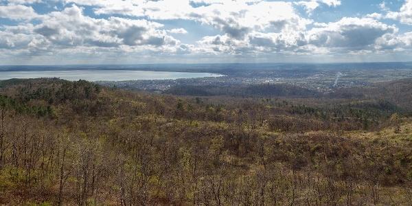 360 fokos panoráma a Berzsenyi-kilátóból