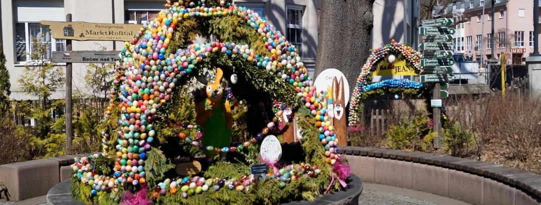 Thalheimská Velikonoční kašna