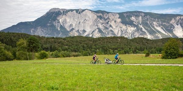 Radfahren Wiese