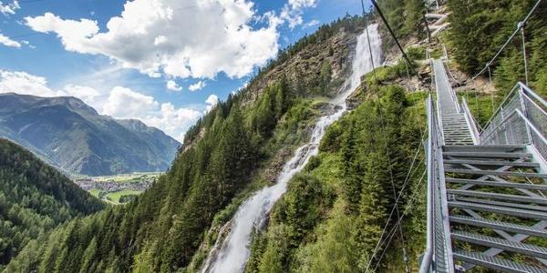 Stuibenfall - Tirols größter Wasserfall