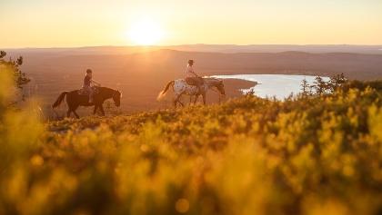 Rider in Pyhä-Luosto