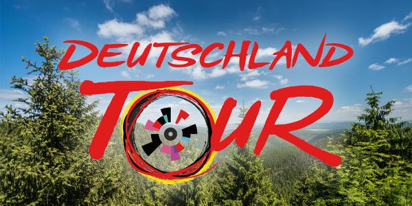 Deutschland Tour im Thüringer Wald