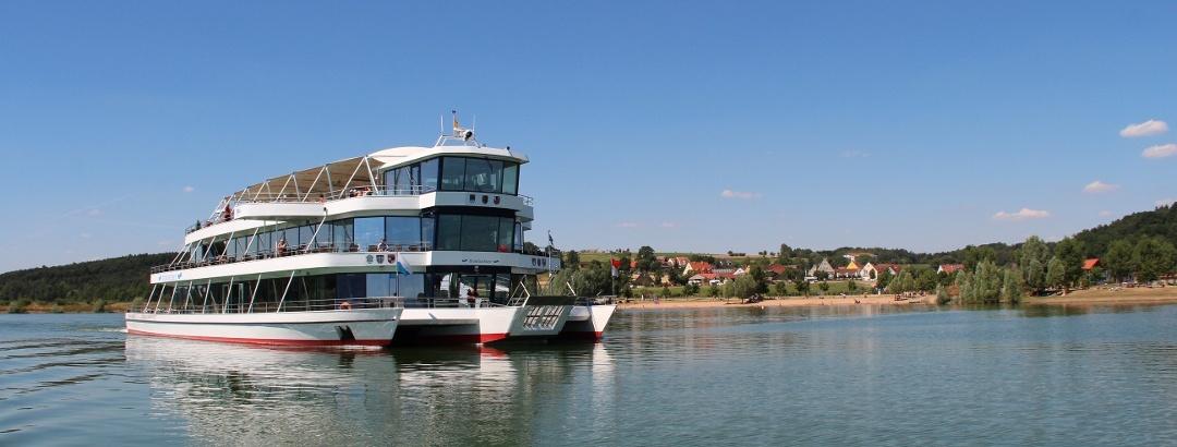 Erlebnisschifffahrt Brombachsee
