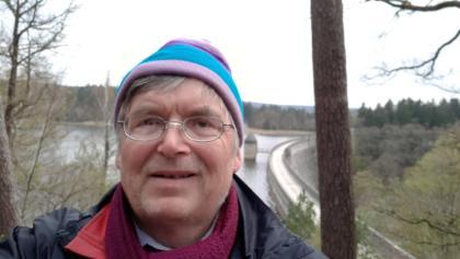 Am Dreilägerdreibachtalsperre in der Nähe von Roetgen