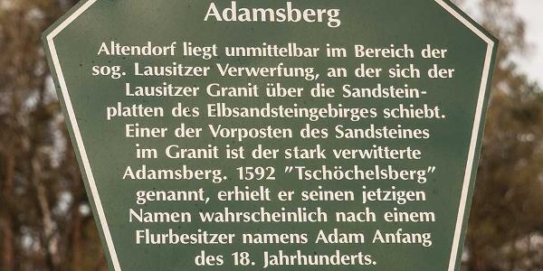 Info-Tafel in Altendorf