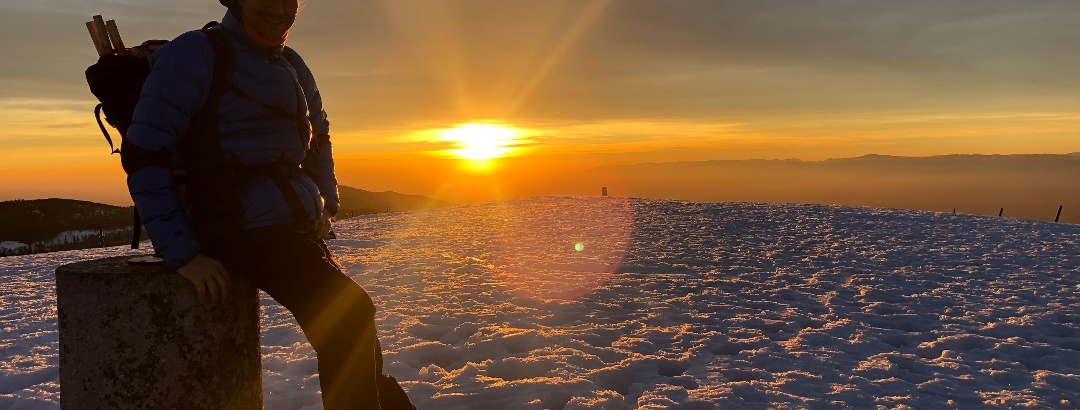 Belchen Sonnenuntergang
