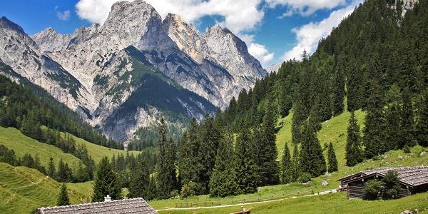 Die Bindalm im Nationalpark Berchtesgaden