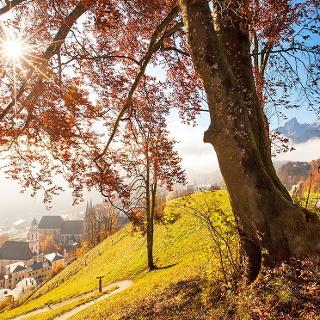 <![CDATA[Herbst an der Kirchleitn-Kapelle]]>