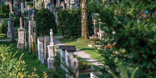 Gräber auf dem Alten Friedhof Berchtesgaden