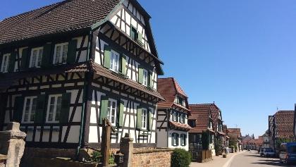 Fachwerkhäuser in Betschdorf