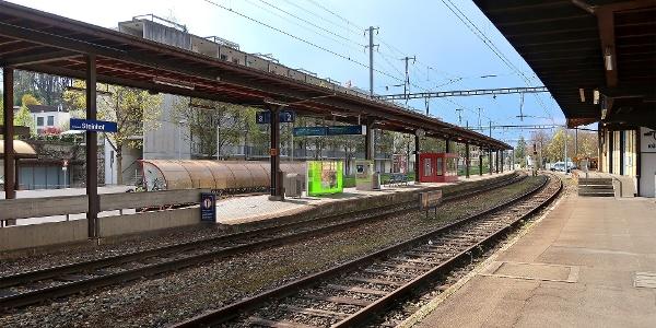 Bahnhof Burgdorf Steinhof.