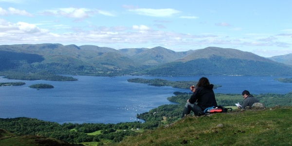 Top of Conic Hill