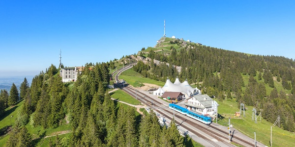 Start der Tour: Rigi Staffel