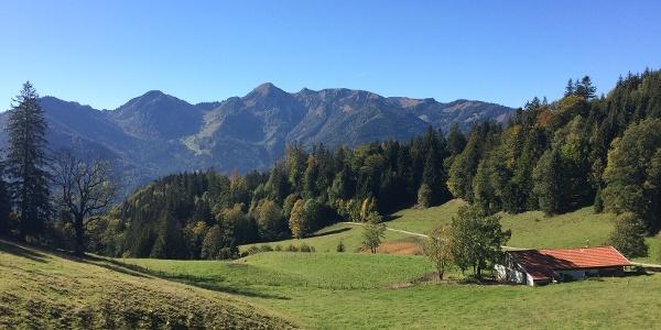 Geigelstein und Breitenstein locken