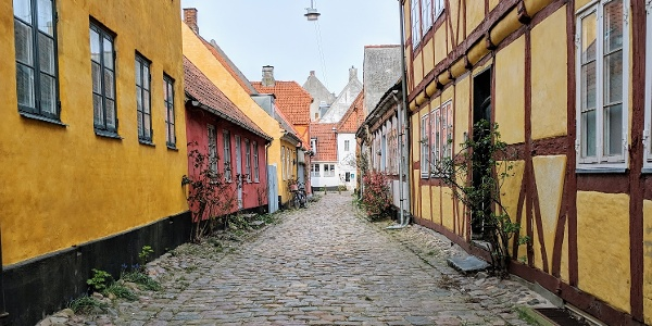 Wander the cobbled streets of Helsingør's old town.