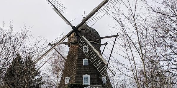 Tibberup Windmill south of Helsingør.
