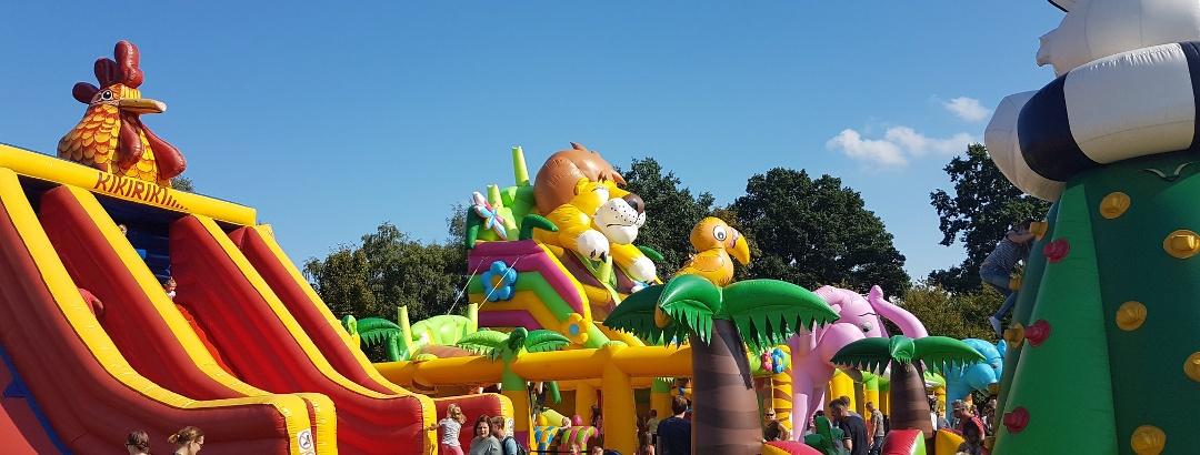 Immer wieder eine gelungene Veranstaltung: Das Hüpfburgenfest