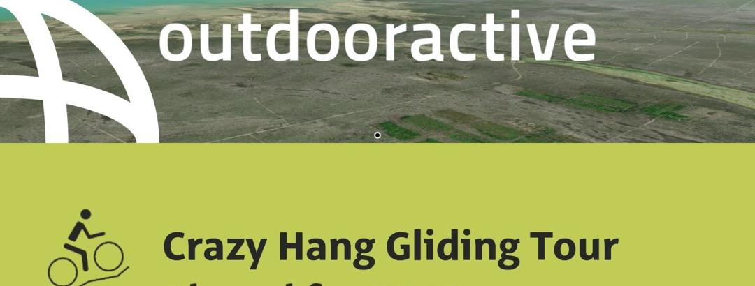 Interaktives 3D Erlebnis: Crazy Hang Gliding Tour Planed for 2021