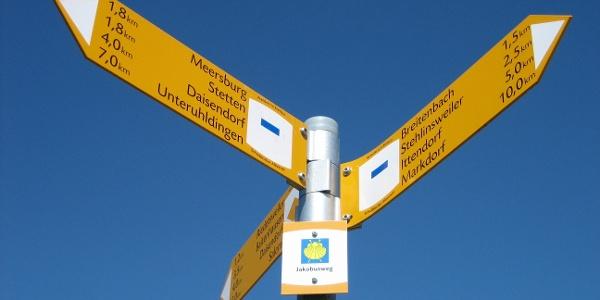 Wegweiser Radweg