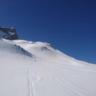 Aufstieg Richtung Madloch