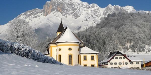 Ettenberger Kirche im WInter