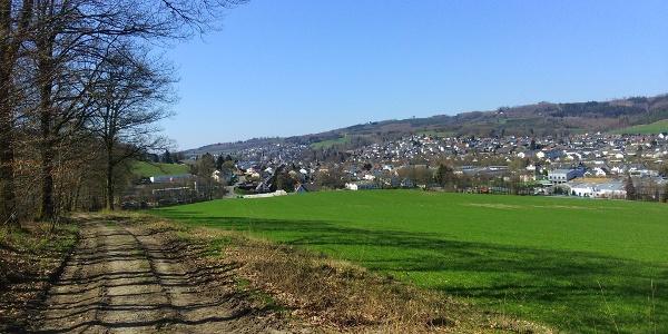 Aussicht vom Wellenberg auf Neuenrade