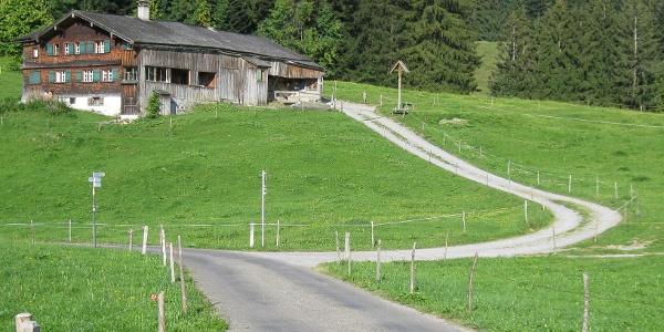 Typisches Bregenzerwälder Bauernhaus
