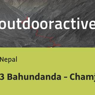 Wanderung in Nepal: 3 Bahundanda - Chamje
