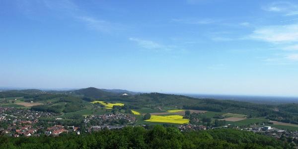 Aussicht über Borgholzhausen