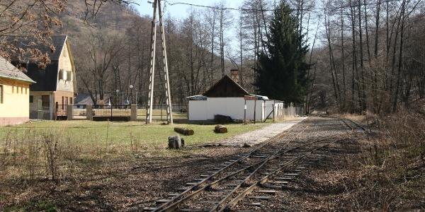 A Kemencei Erdei Múzeumvasút Godóvár állomása