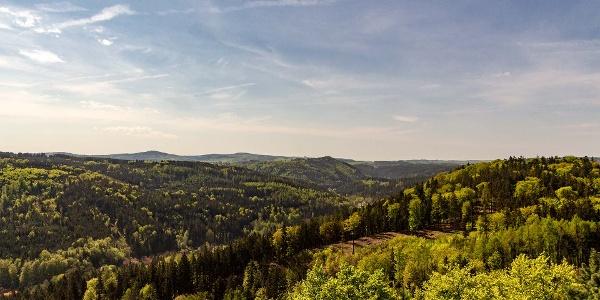Kaiserwald aus der Luft