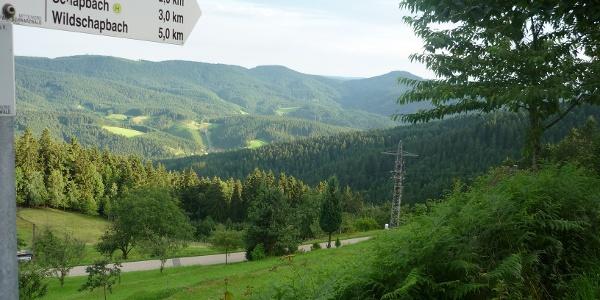 Blick vom Kupferberg