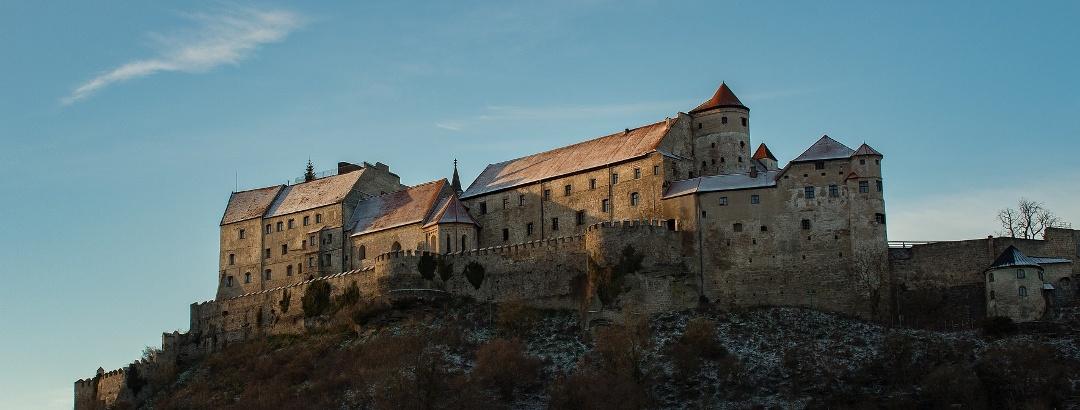 Die Hauptburg der Burg zu Burghausen