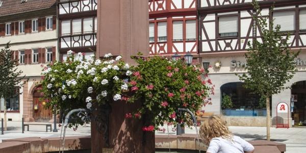 Marktplatzbrunnen Tauberbischofsheim
