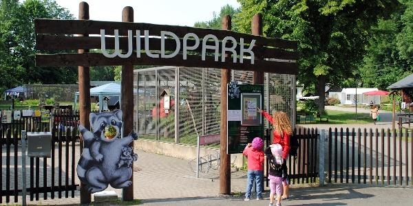 Eingang Wildpark