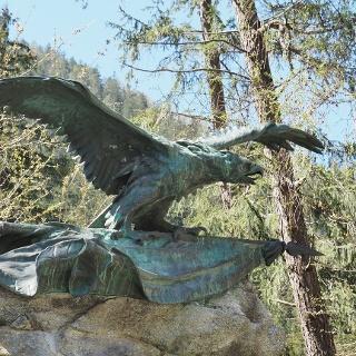 Der Pontlatzer Adler, Denkmal an die Kämpfe der Tiroler gegen die Bayern und Franzosen 1703 und 1803