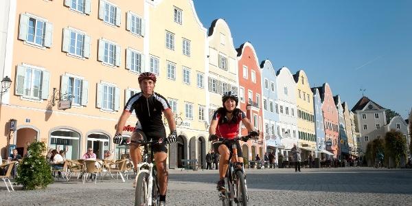 Schärding - Eldorado für Radfahrer